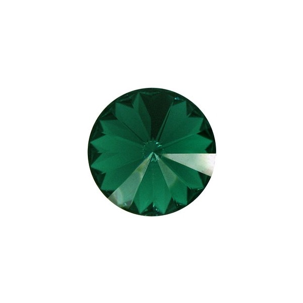 Swarovski RIVOLI 1122 12mm, Emerald