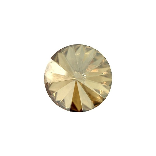 Swarovski RIVOLI 1122 12mm, Golden Shadow